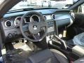 2009 Ford Mustang Black/Black Interior Prime Interior Photo