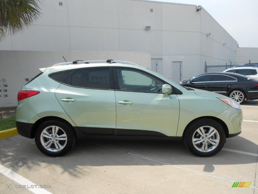 Kiwi Green 2012 Hyundai Tucson Gls Exterior Photo