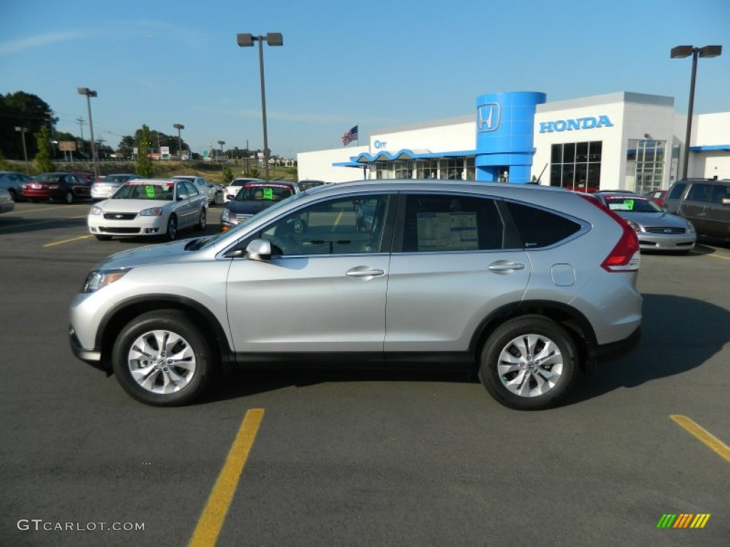Alabaster Silver Metallic 2012 Honda CR-V EX-L 4WD Exterior Photo #66312830