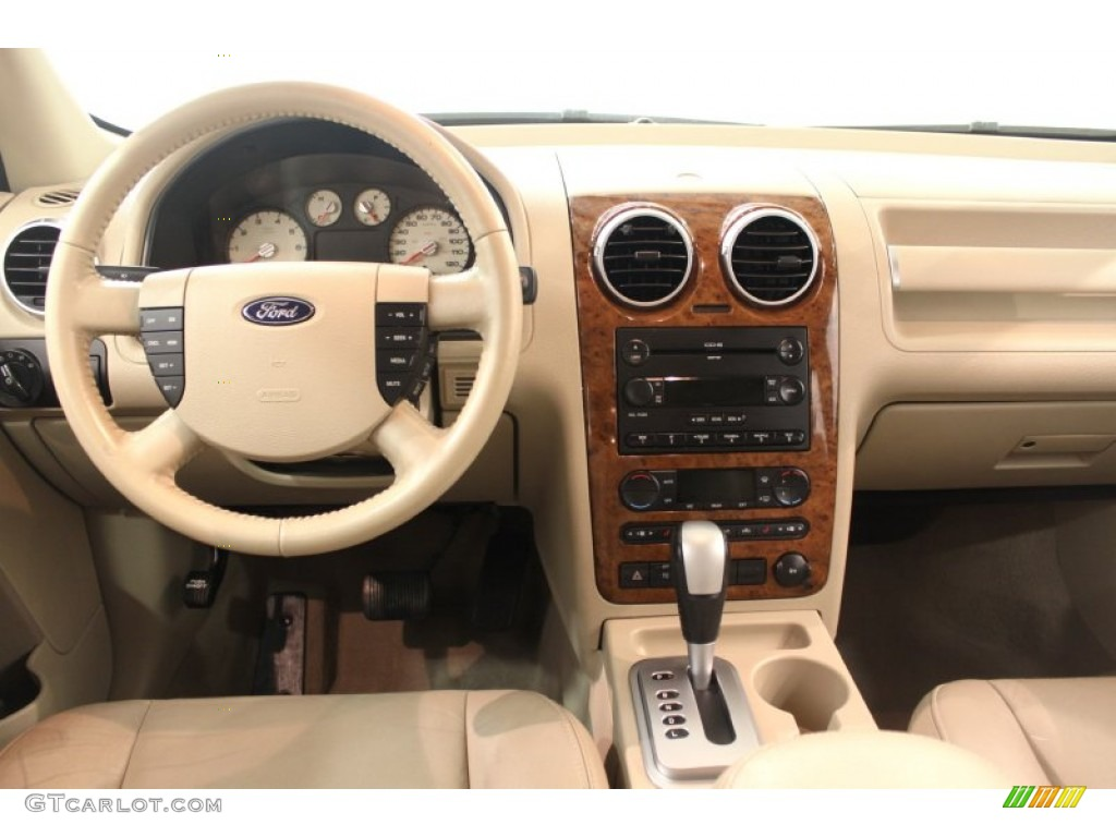 2006 ford freestyle limited awd pebble beige dashboard photo 66324751