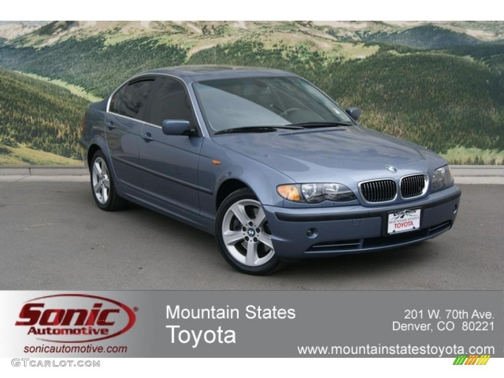 2004 Steel Blue Metallic BMW 3 Series 330xi Sedan 66272695