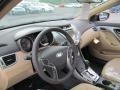Beige Steering Wheel Photo for 2013 Hyundai Elantra #66329598