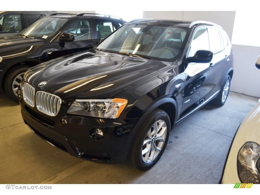 jet black 2013 bmw x3 xdrive 35i exterior photo 66333174. Black Bedroom Furniture Sets. Home Design Ideas
