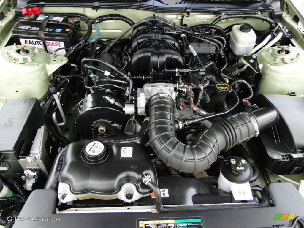 2005 ford mustang v6 deluxe coupe 4 0 liter sohc 12 valve. Black Bedroom Furniture Sets. Home Design Ideas