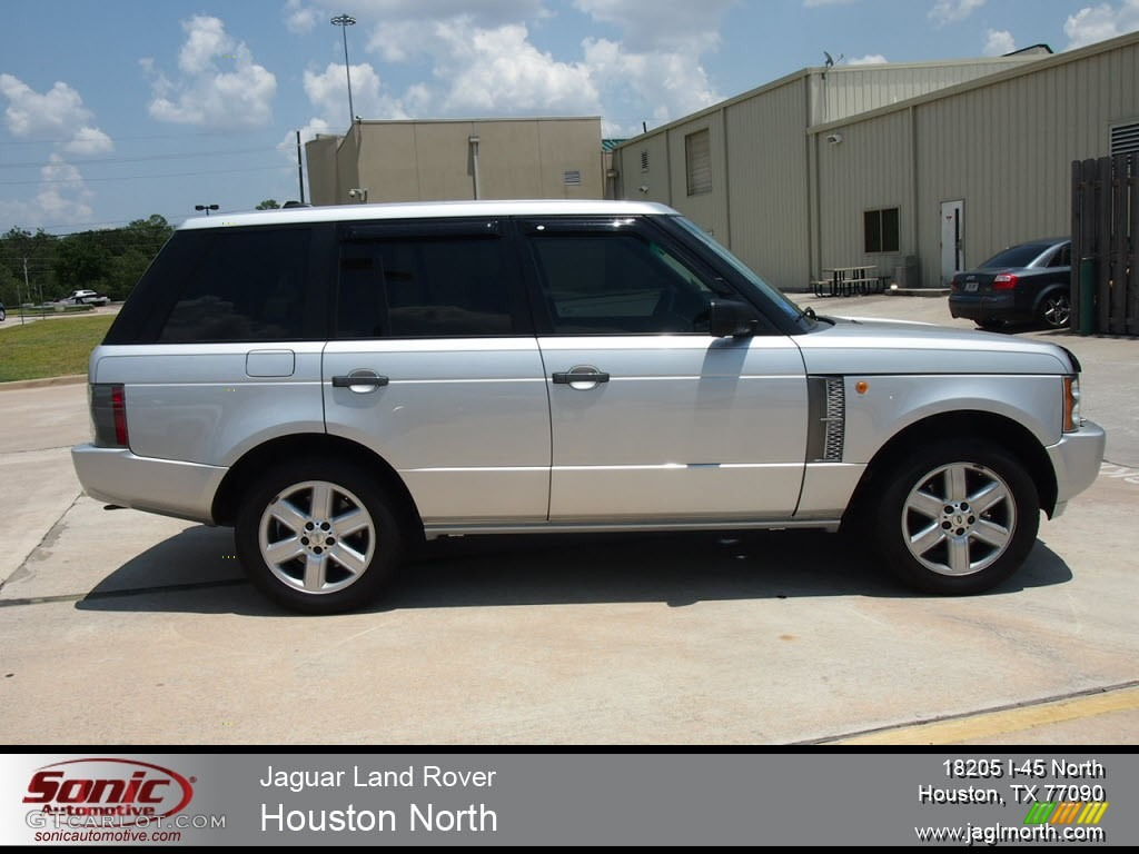 2005 Range Rover HSE - Zambezi Silver Metallic / Jet Black photo #1