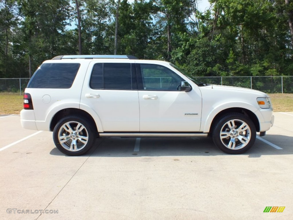 Oxford White 2008 Ford Explorer Limited Exterior Photo ...