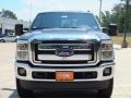 2012 Sterling Grey Metallic Ford F250 Super Duty Lariat Crew Cab 4x4  photo #10
