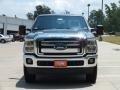 2012 Sterling Grey Metallic Ford F250 Super Duty Lariat Crew Cab 4x4  photo #11
