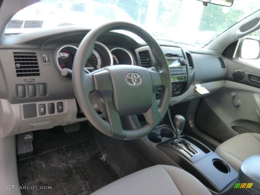 2012 toyota tacoma regular cab 4x4 interior photo 66344945. Black Bedroom Furniture Sets. Home Design Ideas