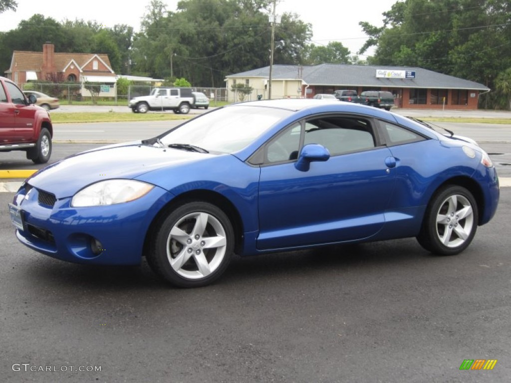 UV Blue Pearl 2006 Mitsubishi Eclipse GS Coupe Exterior ...