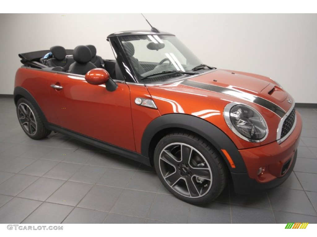 2012 spice orange metallic mini cooper s convertible 66337945 car color galleries. Black Bedroom Furniture Sets. Home Design Ideas
