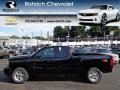 2012 Black Chevrolet Silverado 1500 LTZ Extended Cab 4x4  photo #1