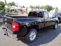 2012 Black Chevrolet Silverado 1500 LTZ Extended Cab 4x4  photo #4