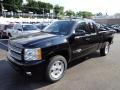2012 Black Chevrolet Silverado 1500 LTZ Extended Cab 4x4  photo #7