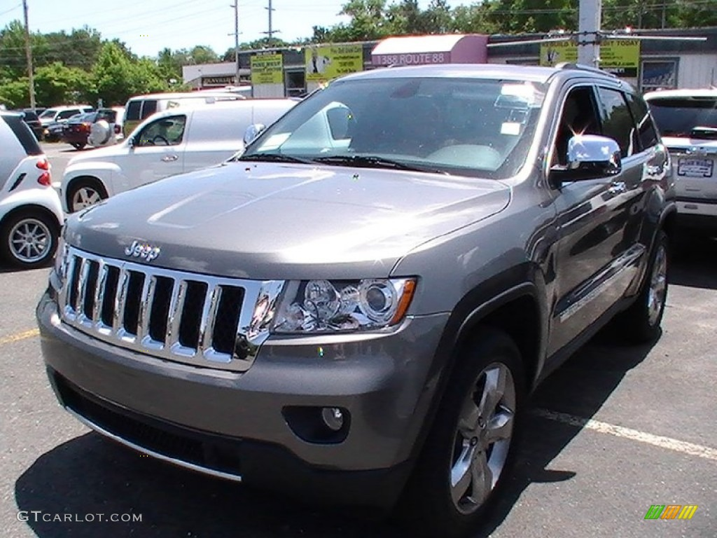 2012 mineral gray metallic jeep grand cherokee overland. Black Bedroom Furniture Sets. Home Design Ideas