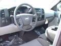 2012 Mocha Steel Metallic Chevrolet Silverado 1500 Work Truck Regular Cab  photo #3