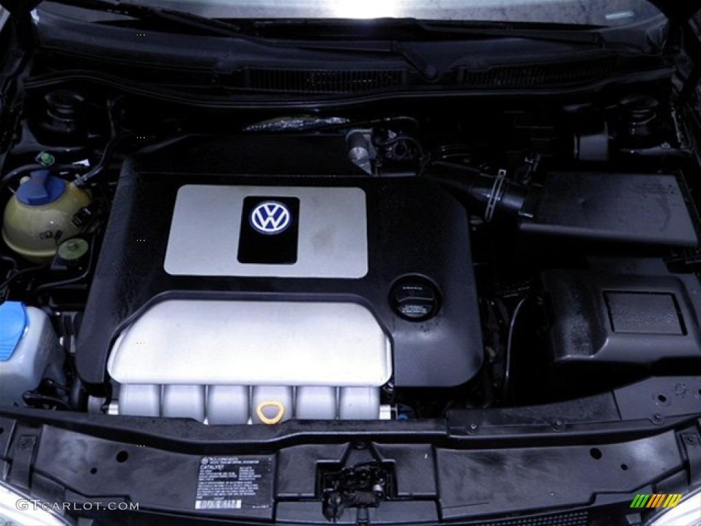 2002 Volkswagen GTI VR6 2.8 Liter DOHC 12-Valve VR6 V6