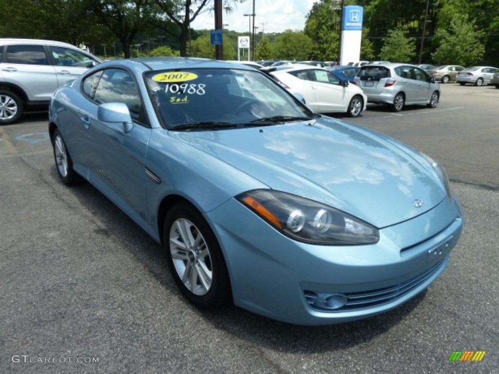 Sky Blue 2007 Hyundai Tiburon Gs Exterior Photo 66387014