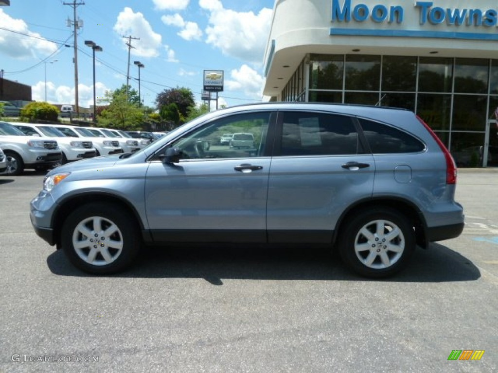 2011 CR-V SE 4WD - Glacier Blue Metallic / Gray photo #2