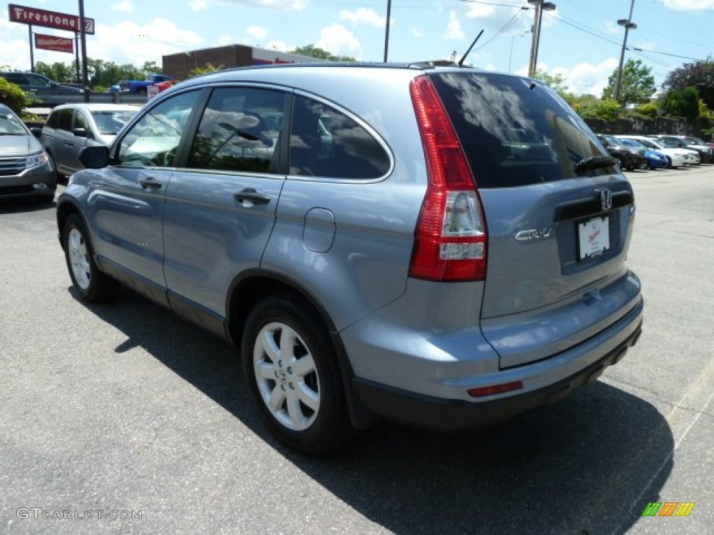 2011 CR-V SE 4WD - Glacier Blue Metallic / Gray photo #3