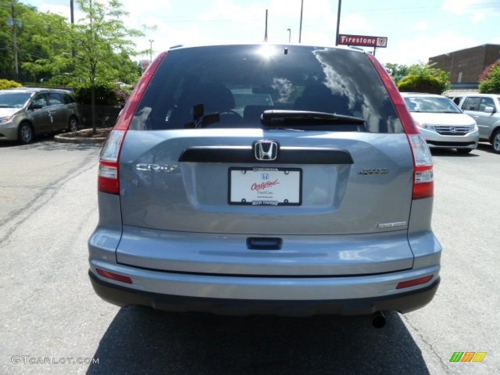 2011 CR-V SE 4WD - Glacier Blue Metallic / Gray photo #4