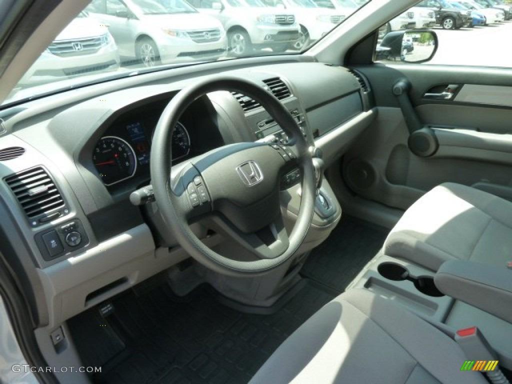 2011 CR-V SE 4WD - Glacier Blue Metallic / Gray photo #20