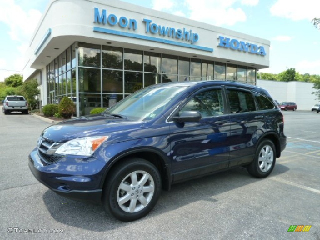 2011 CR-V SE 4WD - Royal Blue Pearl / Gray photo #1