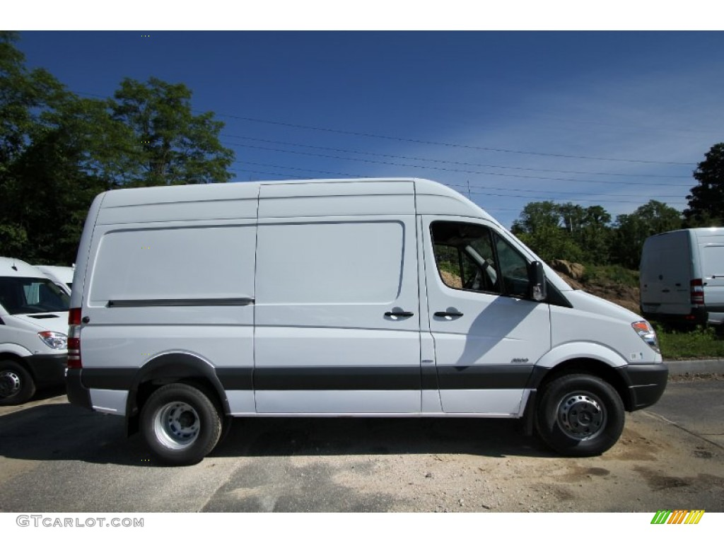 Arctic white 2012 mercedes benz sprinter 3500 high roof for Mercedes benz 3500 sprinter