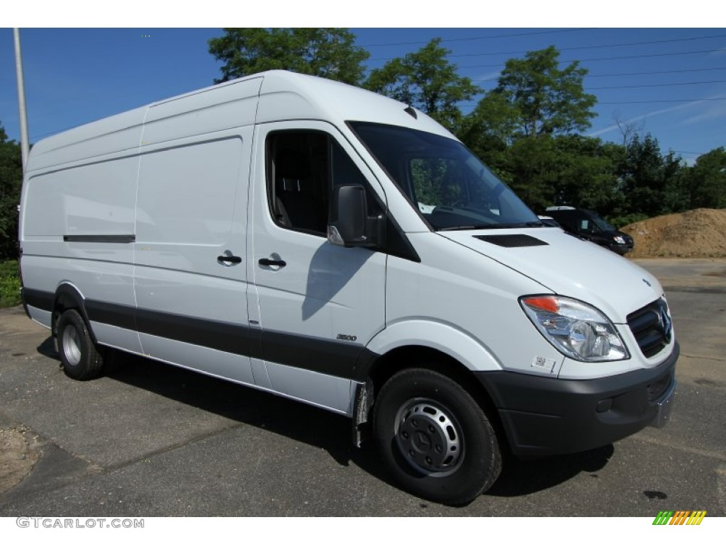 2012 mercedes benz sprinter 3500 high roof extended cargo for Mercedes benz sprinter cargo van