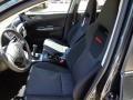 2012 Impreza WRX 4 Door WRX Carbon Black Interior