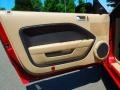 2008 Ford Mustang Medium Parchment Interior Door Panel Photo