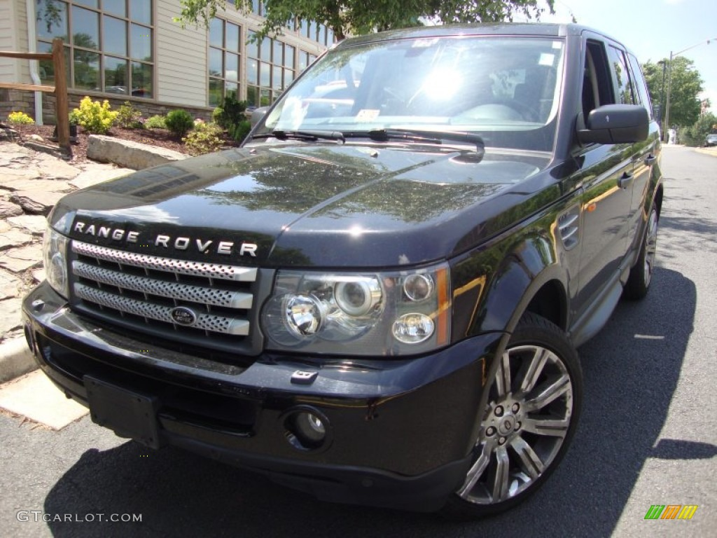 2007 java black pearl land rover range rover sport supercharged 66338025 car. Black Bedroom Furniture Sets. Home Design Ideas