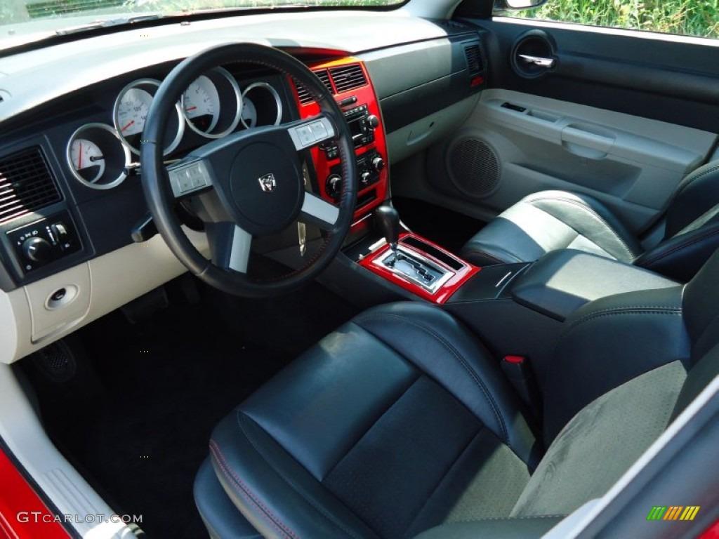 Dark Slate Gray Light Graystone Interior 2006 Dodge Charger R T Daytona Photo 66412579
