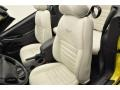 2003 Ford Mustang Ivory White Interior Interior Photo