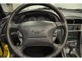 2003 Ford Mustang Ivory White Interior Steering Wheel Photo