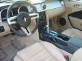 Medium Parchment 2007 Ford Mustang Interiors