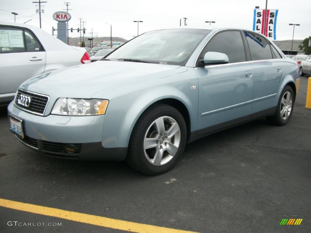 crystal blue metallic 2003 audi a4 3 0 quattro sedan. Black Bedroom Furniture Sets. Home Design Ideas