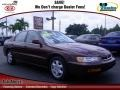 Bordeaux Red Pearl 1996 Honda Accord EX Sedan