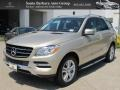 Pearl Beige Metallic 2012 Mercedes-Benz ML Gallery