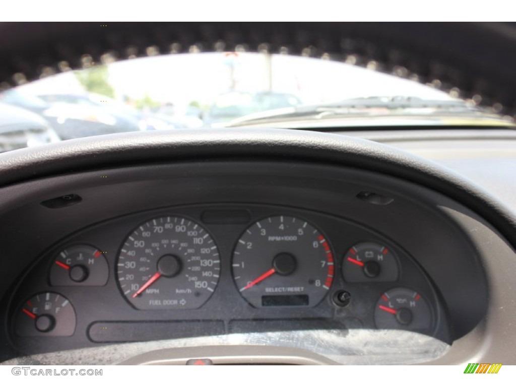 2001 Mustang GT Convertible - Silver Metallic / Medium Graphite photo #3