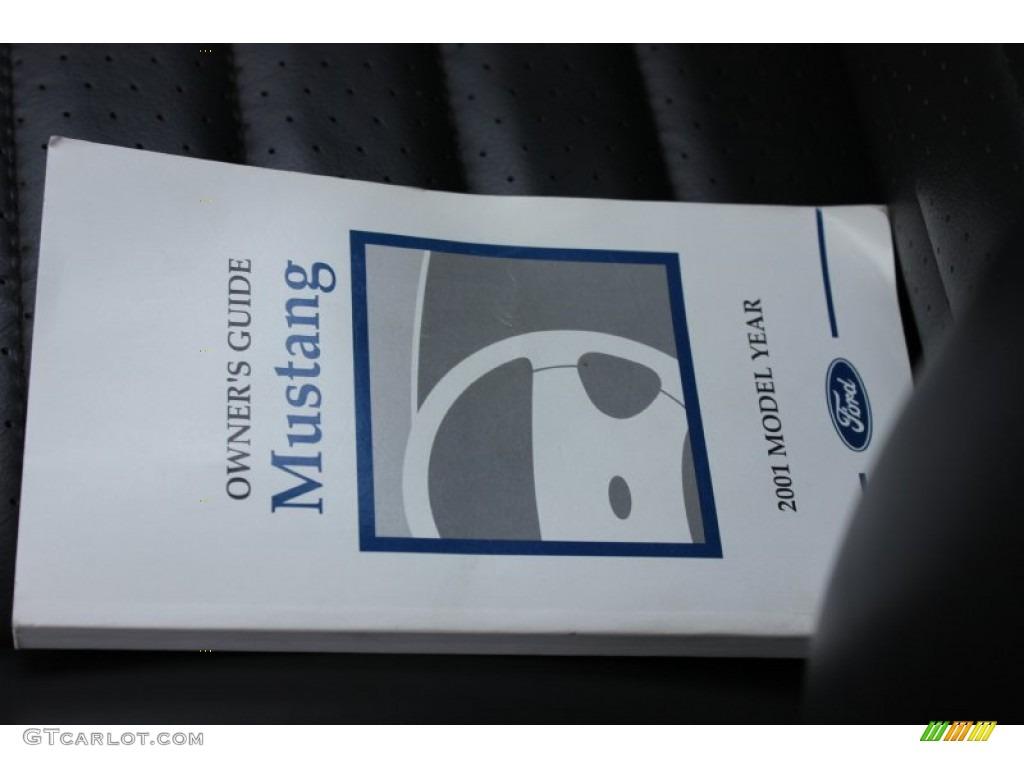 2001 Mustang GT Convertible - Silver Metallic / Medium Graphite photo #4