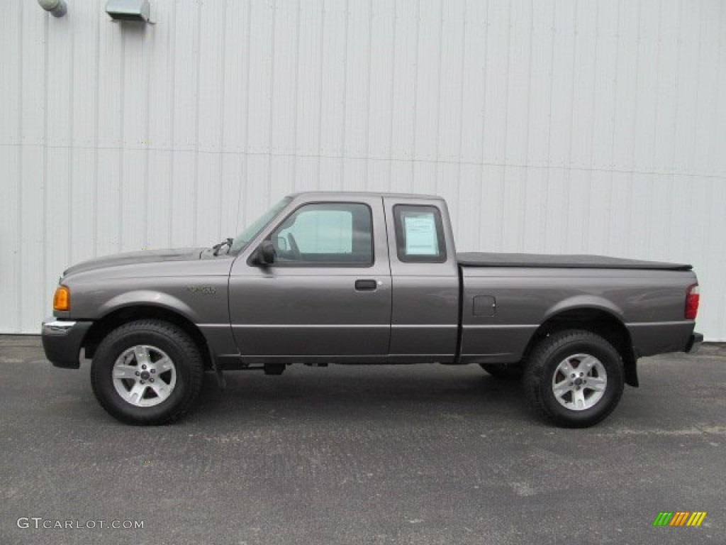 dark shadow grey metallic 2004 ford ranger xlt supercab 4x4 exterior photo 66442437. Black Bedroom Furniture Sets. Home Design Ideas