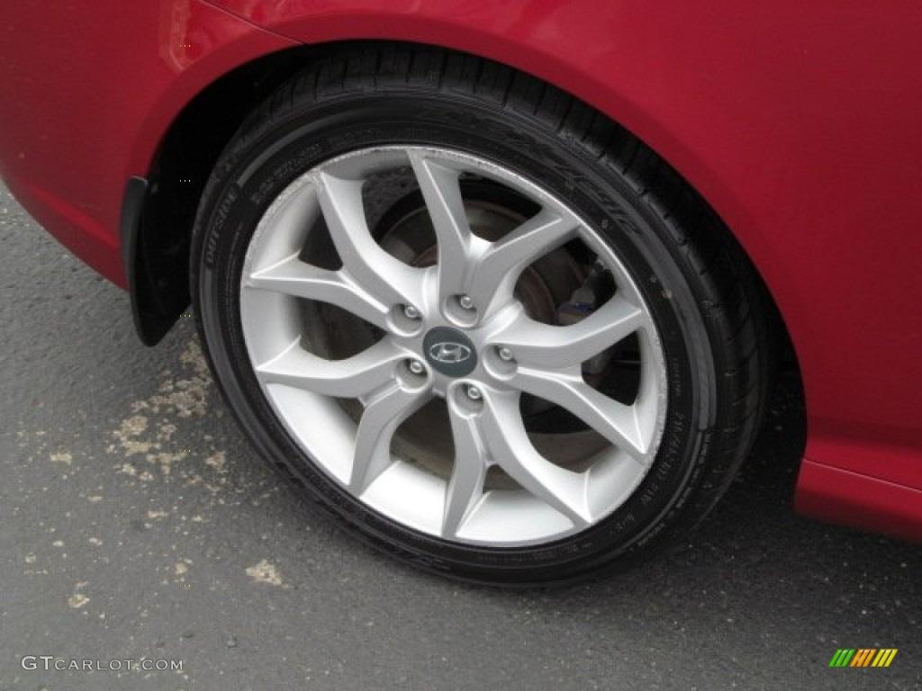 2008 Hyundai Tiburon GT Wheel Photo #66452598