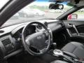 2008 Hyundai Tiburon GT Black Leather/Black Sport Grip Interior Dashboard Photo