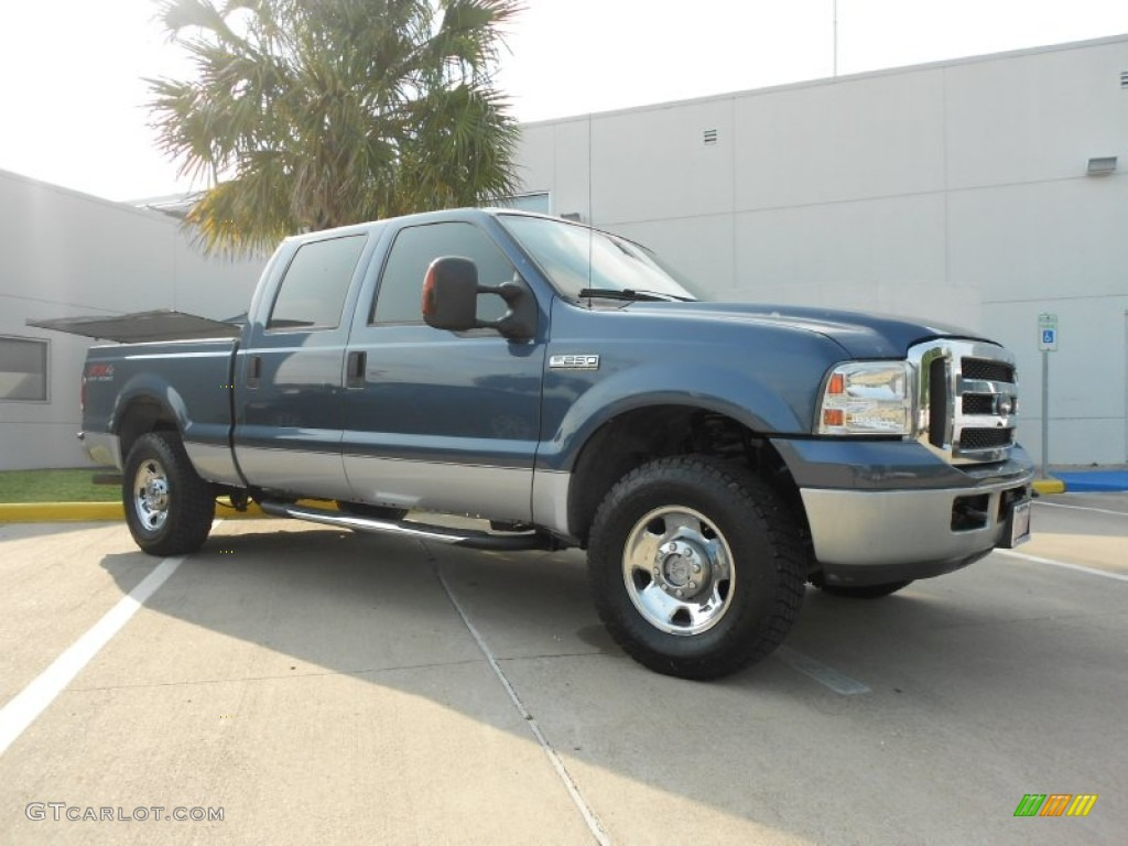2006 medium wedgewood blue metallic ford f250 super duty. Black Bedroom Furniture Sets. Home Design Ideas