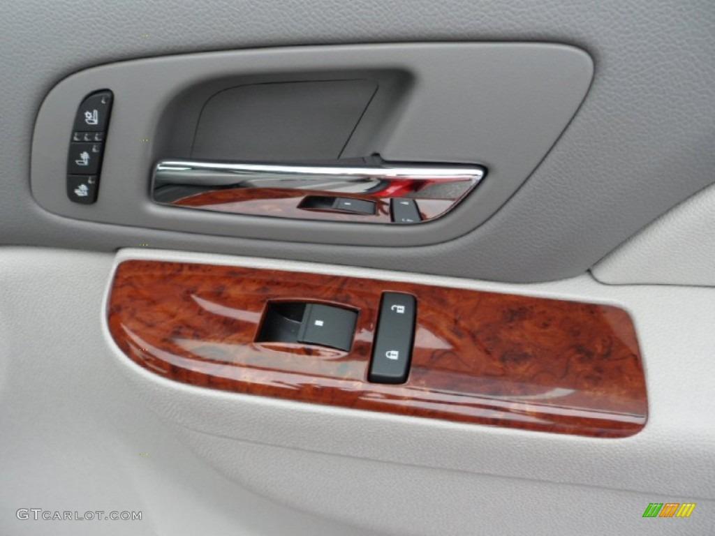2012 Silverado 1500 LTZ Crew Cab 4x4 - Victory Red / Light Titanium/Dark Titanium photo #34
