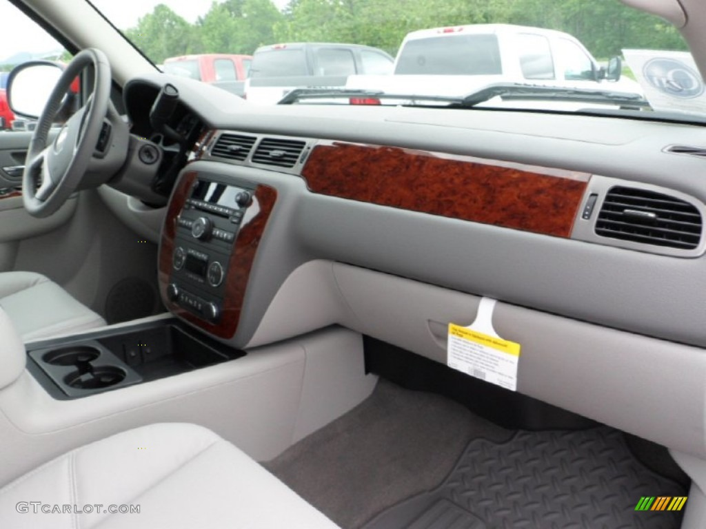 2012 Silverado 1500 LTZ Crew Cab 4x4 - Victory Red / Light Titanium/Dark Titanium photo #37