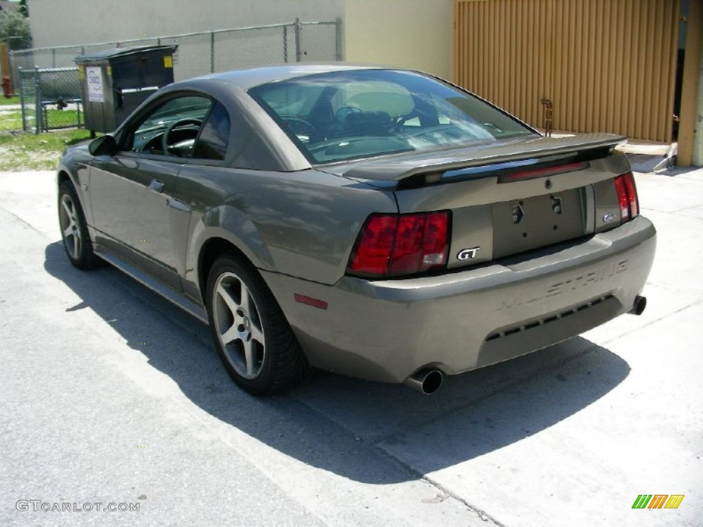 mineral grey metallic 2001 ford mustang gt coupe exterior. Black Bedroom Furniture Sets. Home Design Ideas