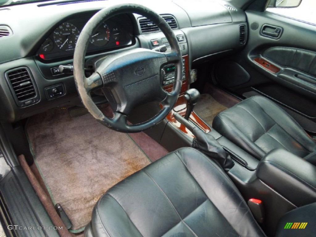 Charcoal interior 1997 nissan maxima gle photo 66469463 gtcarlot