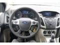 2012 Frosted Glass Metallic Ford Focus SE Sedan  photo #24